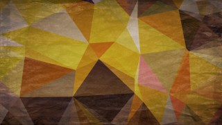 Orange and Brown Distressed Low Poly Background Image