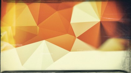 Orange and Brown Grunge Polygonal Background Design