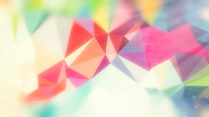 Pastel Rainbow Distressed Polygon Pattern Background