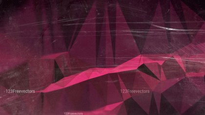 Pink and Black Grunge Low Poly Background Design