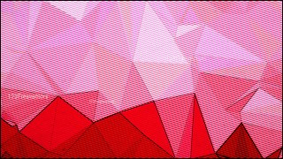 Pink and Red Distressed Low Poly Background