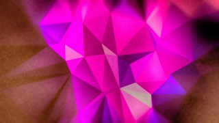 Pink Blue and Brown Distressed Polygon Background