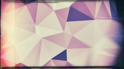 Purple and Beige Grunge Geometric Polygon Background