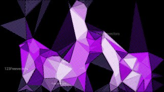 Purple and Black Grunge Low Poly Background