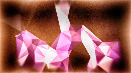 Purple and Brown Grunge Polygonal Background