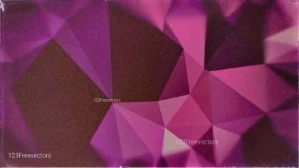 Purple and Brown Distressed Polygon Triangle Background Image