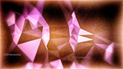 Purple and Brown Grunge Polygon Triangle Background Graphic