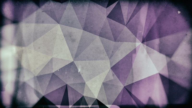 Purple and Grey Distressed Polygon Background Image