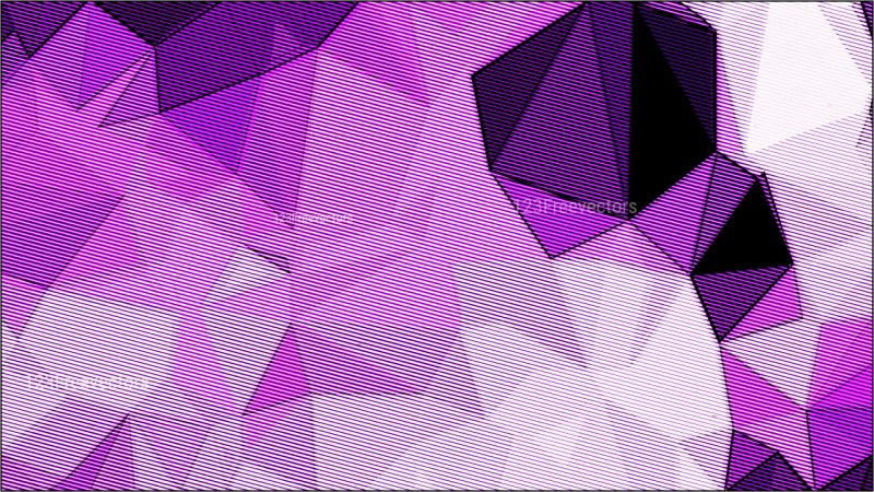 Purple and White Distressed Low Poly Background Image