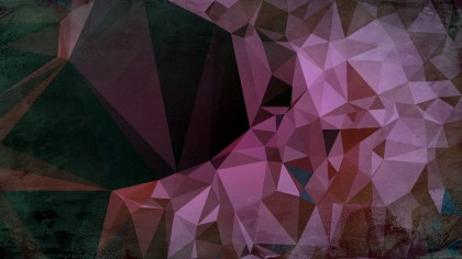 Purple Brown and Black Distressed Polygonal Background Image