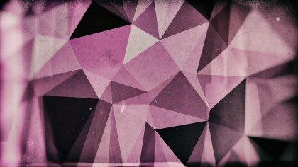 Purple Brown and Black Distressed Polygonal Background