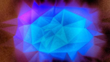 Purple Brown and Blue Distressed Polygon Pattern Background Image