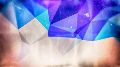 Purple Brown and Blue Distressed Low Poly Background