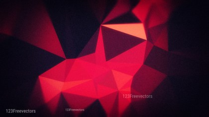Red and Black Distressed Polygon Pattern Background Image