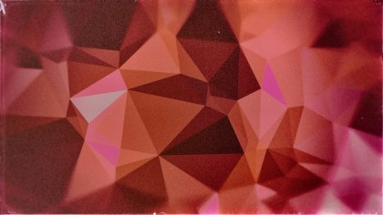 Red and Brown Grunge Polygon Background Image