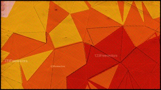 Red and Orange Grunge Polygon Background