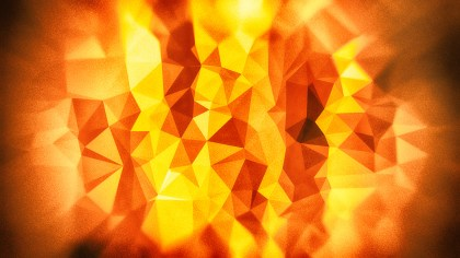 Red Yellow and Brown Grunge Polygonal Triangle Background