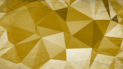 White and Gold Grunge Polygon Background