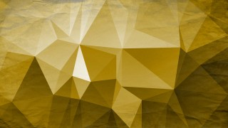 White and Gold Grunge Low Poly Background