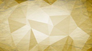 White and Gold Grunge Polygon Triangle Background