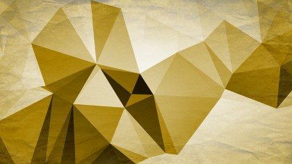White and Gold Grunge Polygonal Background Image