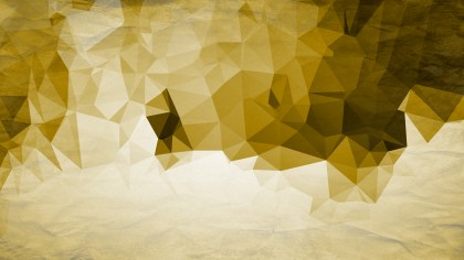 White and Gold Grunge Polygon Background Design