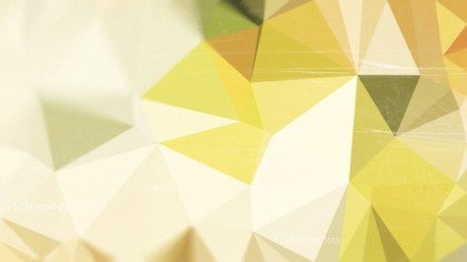 Yellow and Beige Distressed Polygon Pattern Background