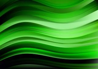 Cool Green Wavy Background Design