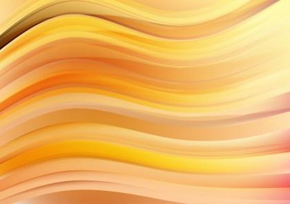 Light Orange Curve Background