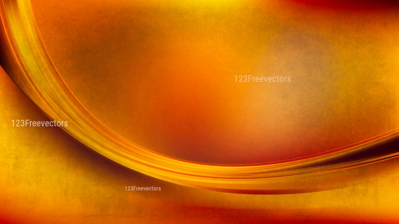 Red and Orange Abstract Curve Background Image
