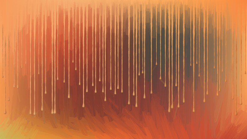 Dark Orange Background Texture