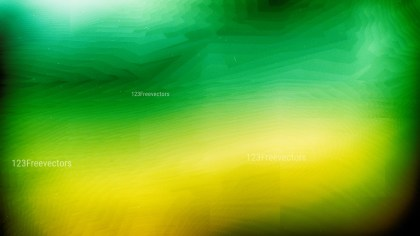 Green and Yellow Blur Texture Graphic