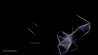 Abstract Black Fractal Background