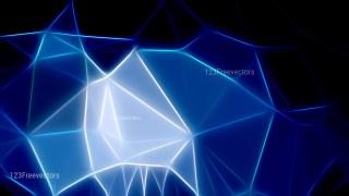 Black and Blue Fractal Background