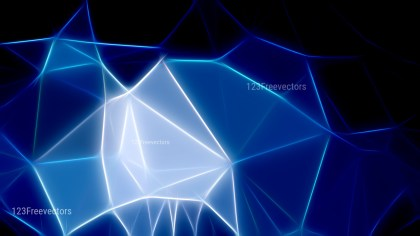 Black and Blue Fractal Background