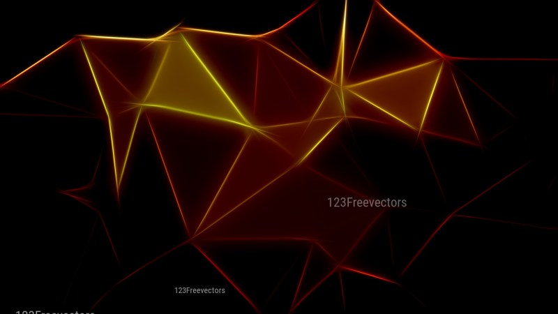Abstract Black and Brown Fractal Background Design