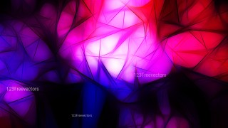 Abstract Black Pink and Blue Fractal Background