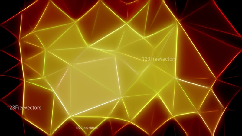 Abstract Black Red and Green Fractal Wallpaper Image