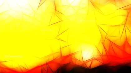 Abstract Black Red and Yellow Fractal Background