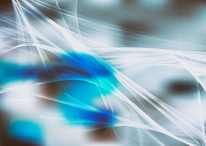 Abstract Blue and Grey Fractal Background