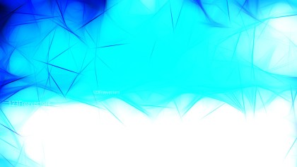 Abstract Blue and White Fractal Light Lines Background Graphic