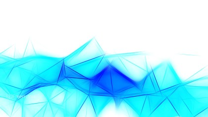 Blue and White Fractal Wallpaper