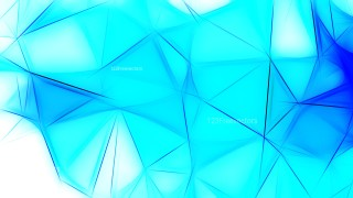 Blue and White Fractal Background
