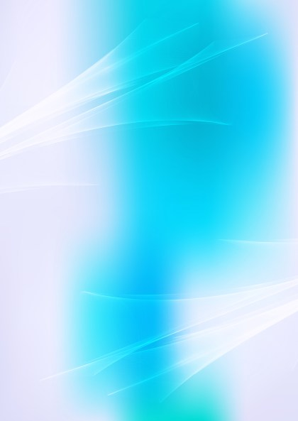 Abstract Blue and White Fractal Wallpaper Graphic