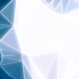 Abstract Blue and White Fractal Background Design