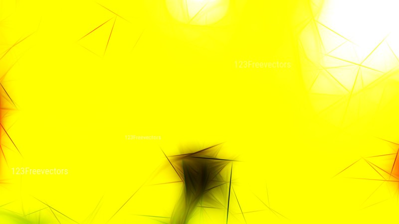 Abstract Bright Yellow Fractal Wallpaper Image