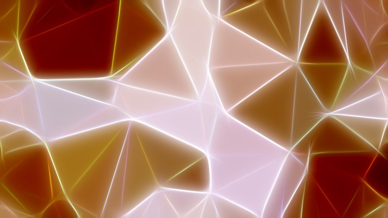 Abstract Brown and White Fractal Background