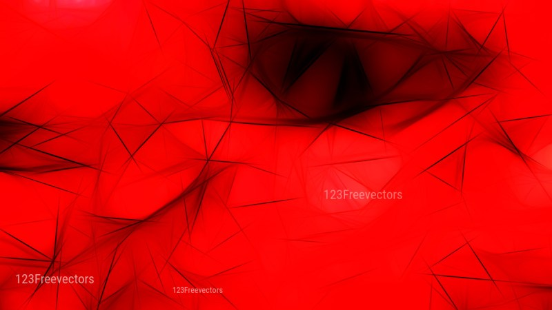 Abstract Cool Red Fractal Wallpaper