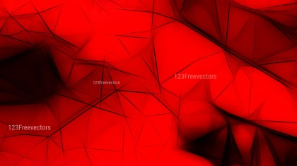Abstract Cool Red Fractal Background Illustration