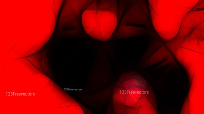Abstract Cool Red Fractal Wallpaper Graphic